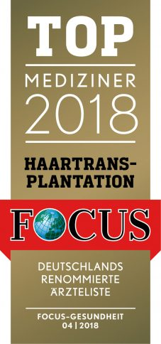 TOP Mediziner 2018-Haartransplantation