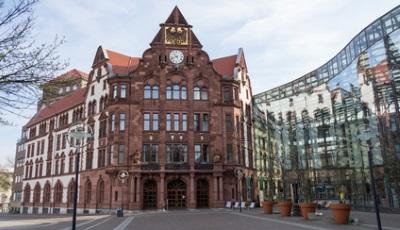 Altes Rathaus und Berswordt-Halle in Dortmund