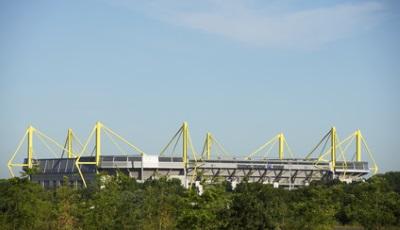 Fussballstadion in Dortmund
