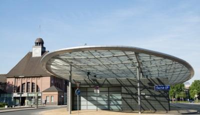 Busbahnhof in Herne